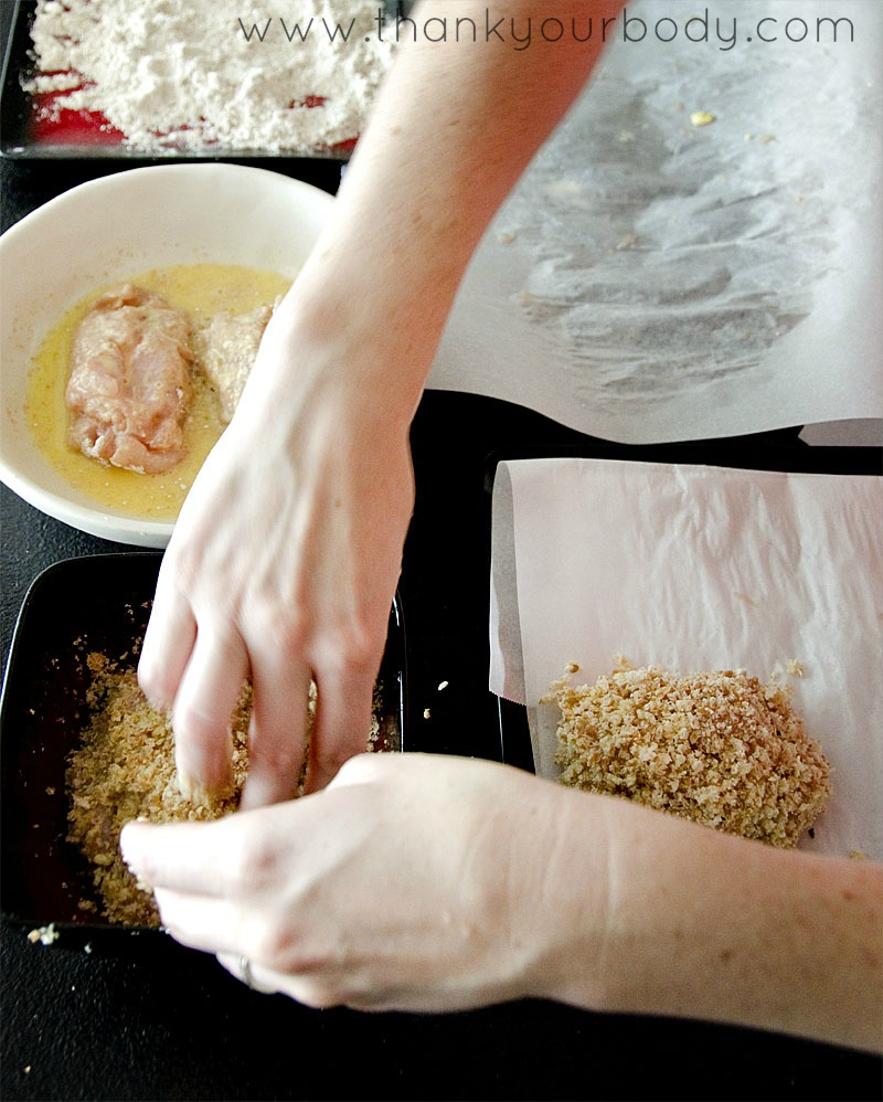 Baked Chicken Kiev Recipe. You must make this!