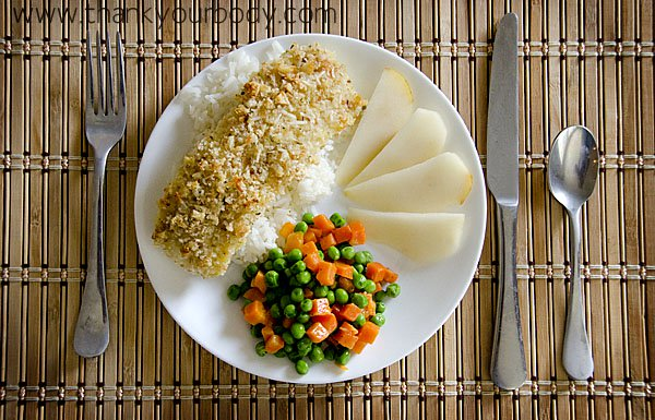 Recipe: Bake Cod with Breaded Parmesan Crust