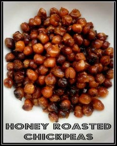 Honey Roasted Chickpeas Final