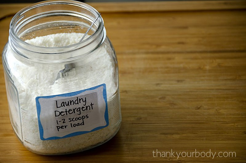 Borax-Free Laundry Detergent: All natural and easy to make!