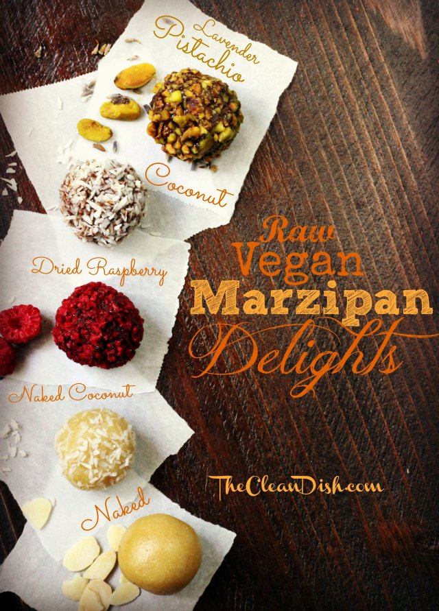 Raw Vegan Marzipan Delights. These look so yummy!