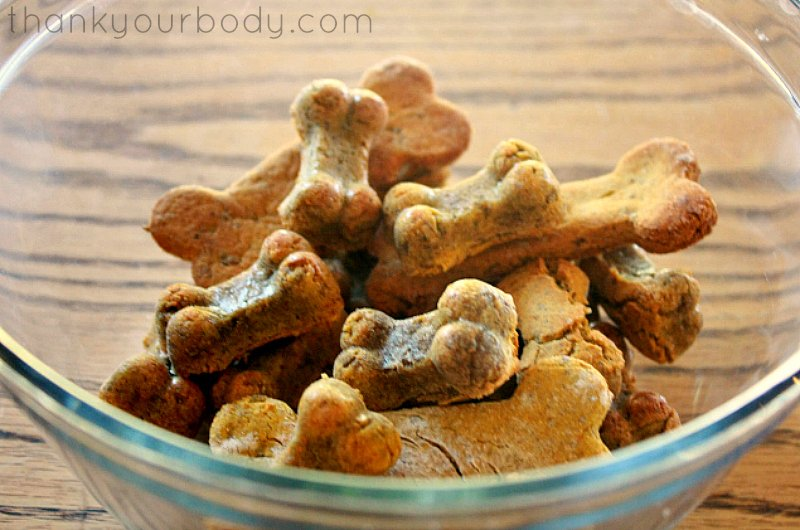 homemade healthy dog treats